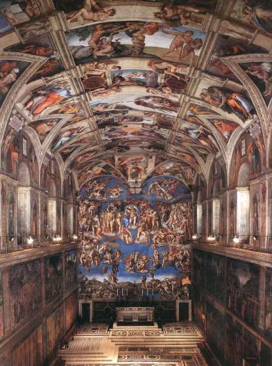 14052-interior-of-the-sistine-chapel-michelangelo-buonarroti